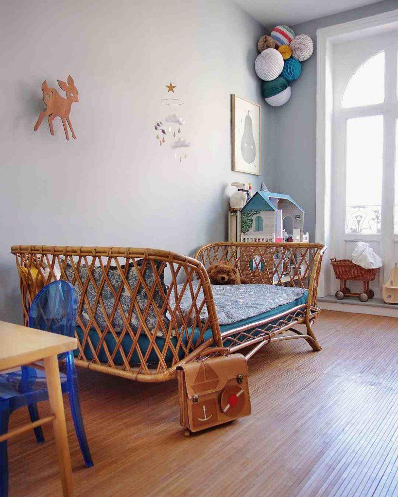Chambre d'enfant rangée
